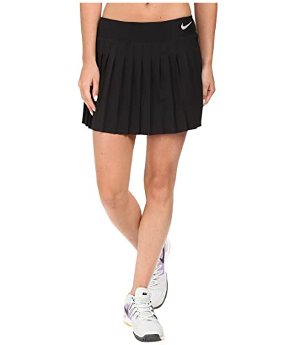 35b7acb602 Image Unavailable. Image not available for. Color: Nike Womens Victory  Tennis Skirt ...