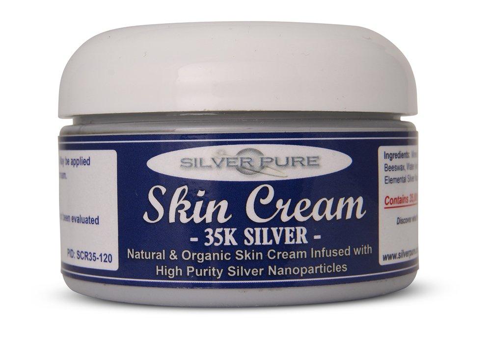 Nano Silver Skin Cream 35,000 ppm - 4 Ounce Jar - Our Best