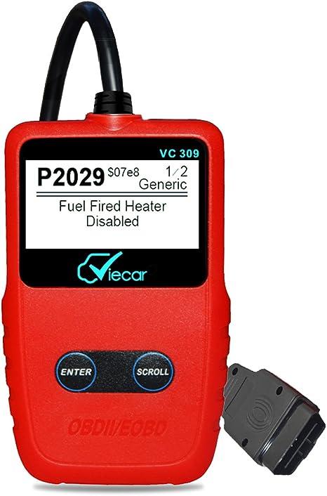 Scanner Engine Light Clear Wireless OBD2 Code Reader for Toyota Celica