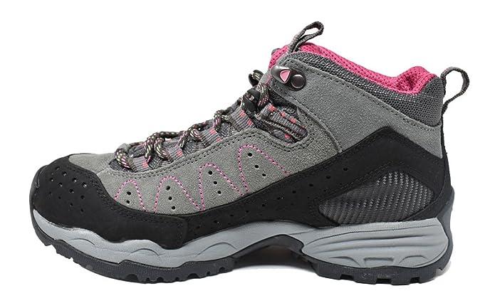 Treksta Commodore GTX, Damen Trekking & Wanderschuhe Grau Grau/Pink, Grau - Grau/Pink - Größe: EU 39