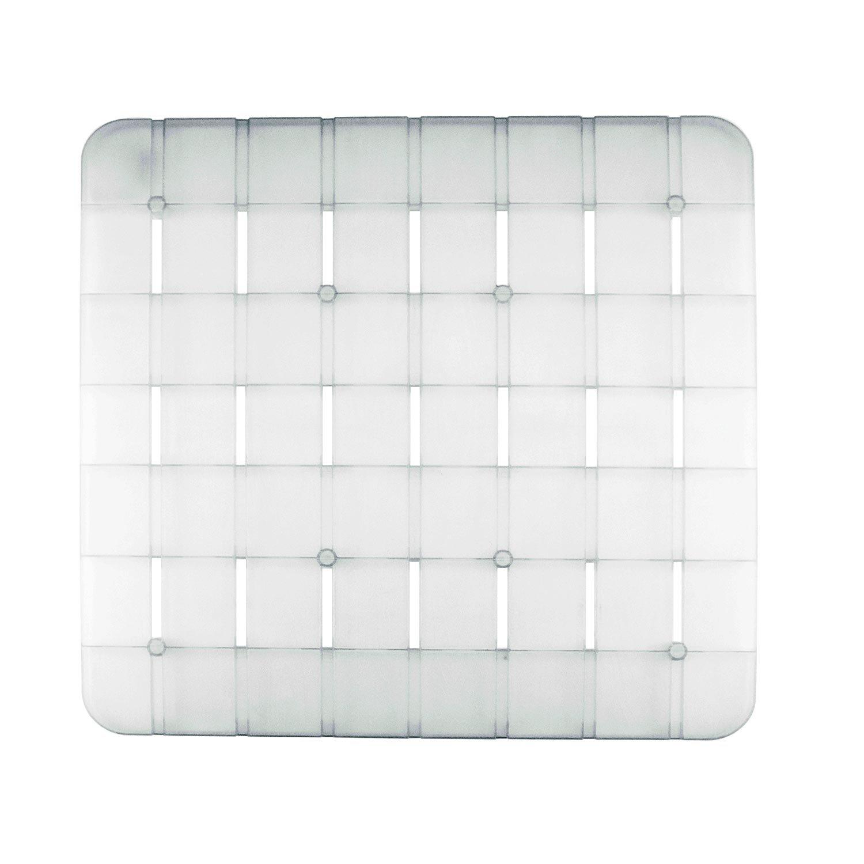 Pedana rigida doccia bianca quadrata 55x55 CM Saniplast