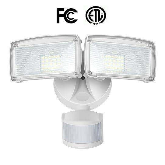 Solla 22w led motion sensor light dual head led security light solla 22w led motion sensor light dual head led security light 1600lm aloadofball Image collections