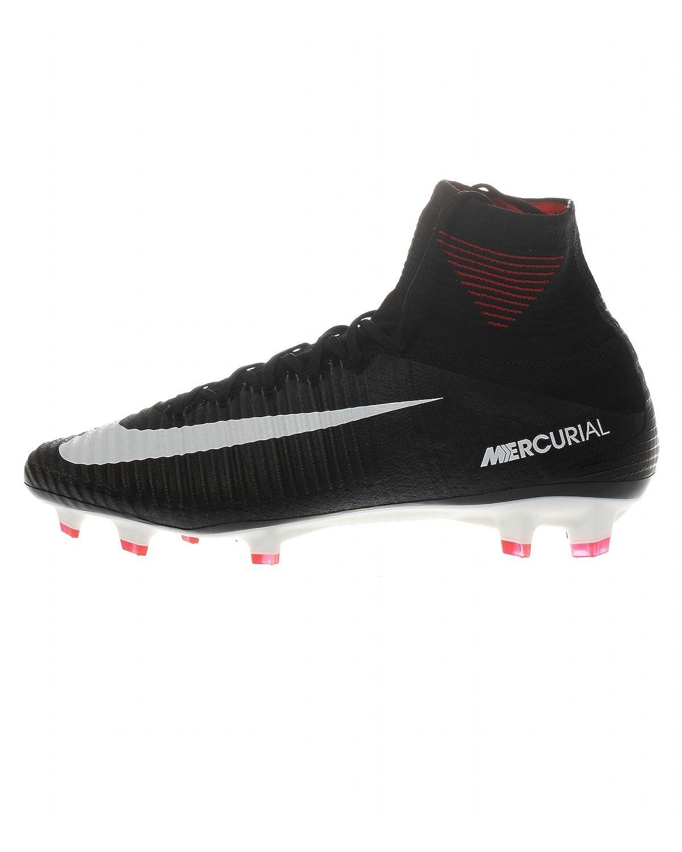 huge discount 8186e ff8d9 Amazon.com   Nike Men s Mercurial Superfly V FG Black White Dark Grey Shoes  - 10A   Soccer