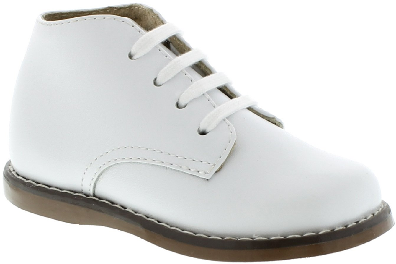 FootMates Unisex Todd 3 (Infant/Toddler) White Oxford 4 Toddler M/W