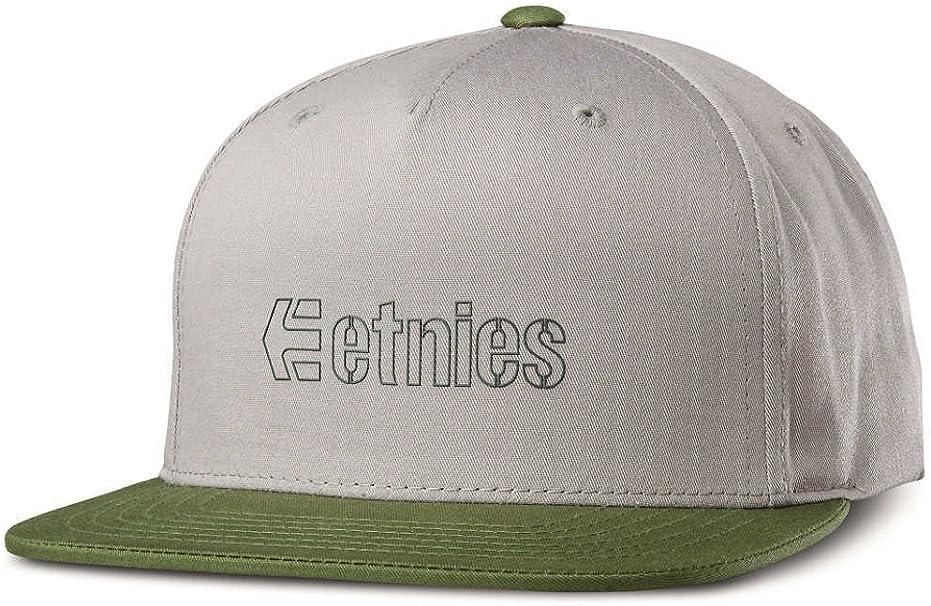 etnies Corporate 5 Snapback-Gorra de béisbol Hombre Verde Oliva ...