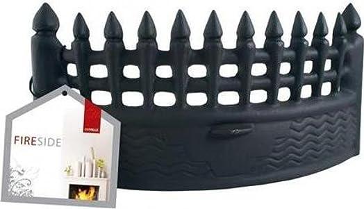 De Vielle Fire Front Castle, Metal, Black, 18-Inch: Amazon.co.uk ...