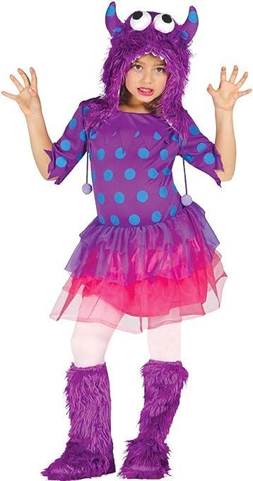 Disfraz de Monstruita lila para niñas en varias tallas: Amazon.es ...