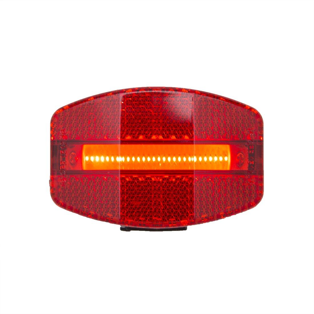 Planet Bike Grateful USB Bike Tail Light, Red/Black