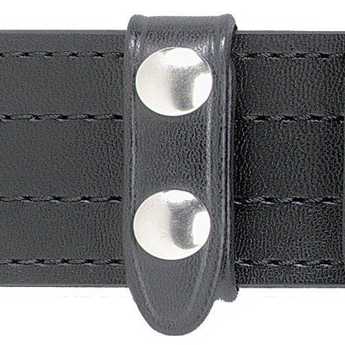 Safariland Duty Gear Chrome Snap Belt Keeper (4PACK) (High Gloss Black) (Belt Keepers Safariland)