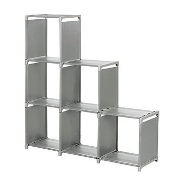 Amazon Com Storage Cube Organizer Sincelee 3 Tier Storage Cube Closet Organizer Shelf 6 Cube Storage Cabinet Bookcasee Saving Cube Storage Unit