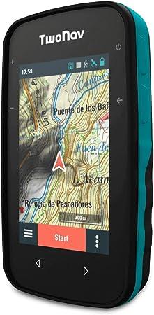 TwoNav - GPS Cross - Multideporte Bicicleta Ciclismo BTT Senderismo Trekking/Compacto y Ligero/Pantalla 3.2