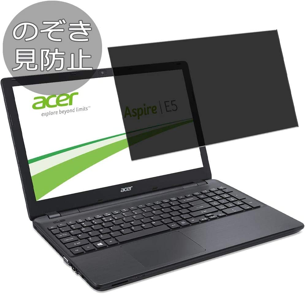 """Synvy Privacy Screen Protector Film for Acer Aspire E5-572 / E5-572g 15.6"""" Anti Spy Protective Protectors [Not Tempered Glass]"""