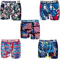 Freegun - Jusqu'à 60% de réduction sur lot de boxers Homme