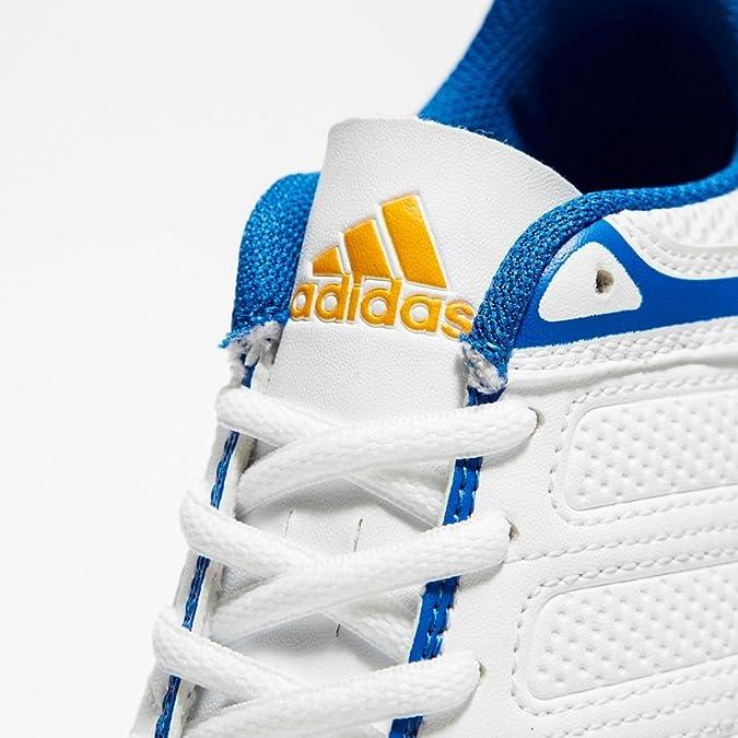 Adidas Boy's Howzat J V Ftwwht, Borang and Blue Sports Shoes - 5 ...
