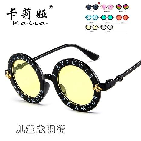 Yangjing-hl Cambio de Color Color Gafas de Sol con Montura ...