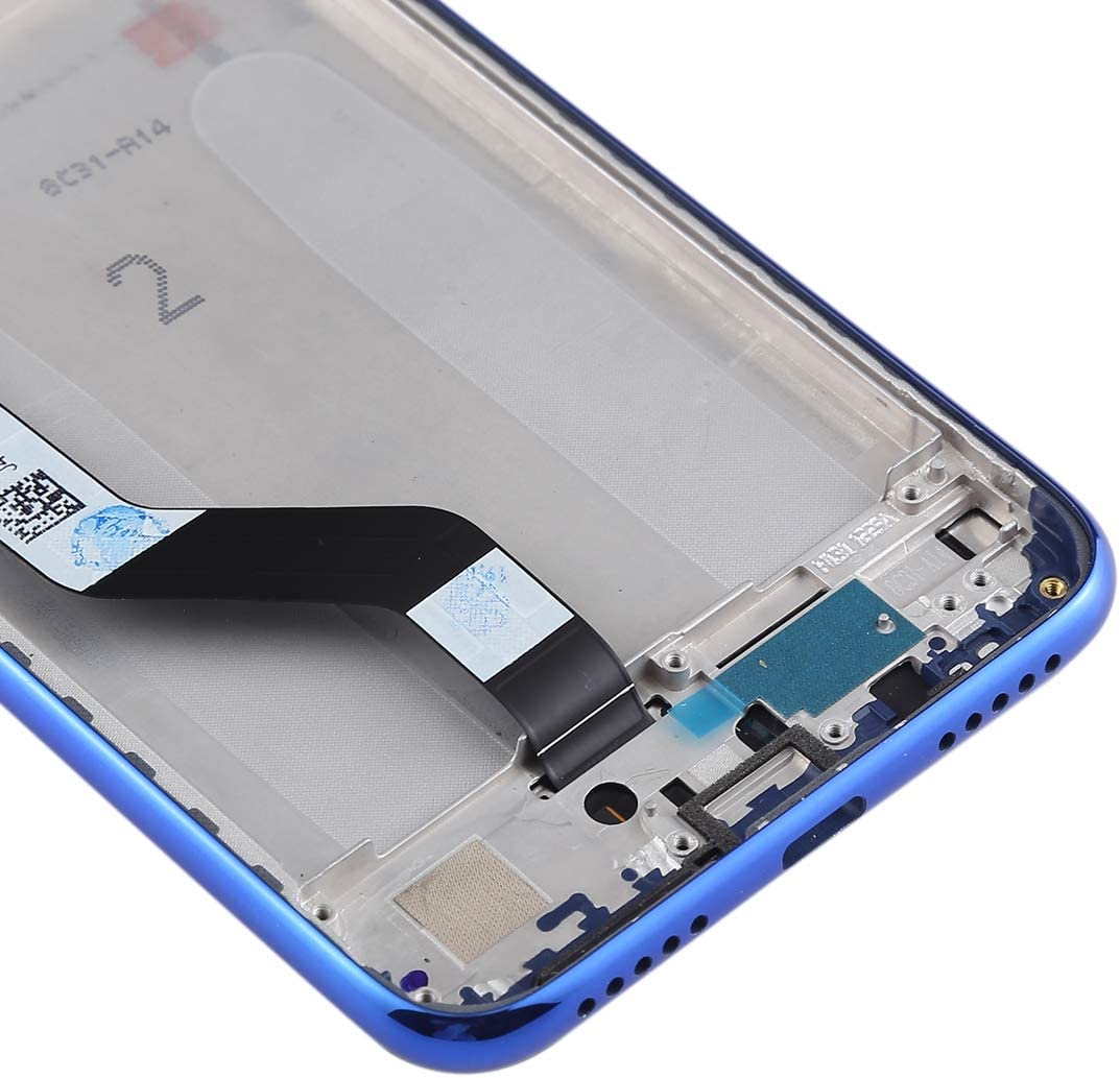 Black NA Replacement LCD Display+Touch Screen for Xiaomi Mi LCD Screen and Digitizer Full Assembly with Frame for Xiaomi Redmi Note 7 // Redmi Note 7 Pro FURUMO Color : Blue