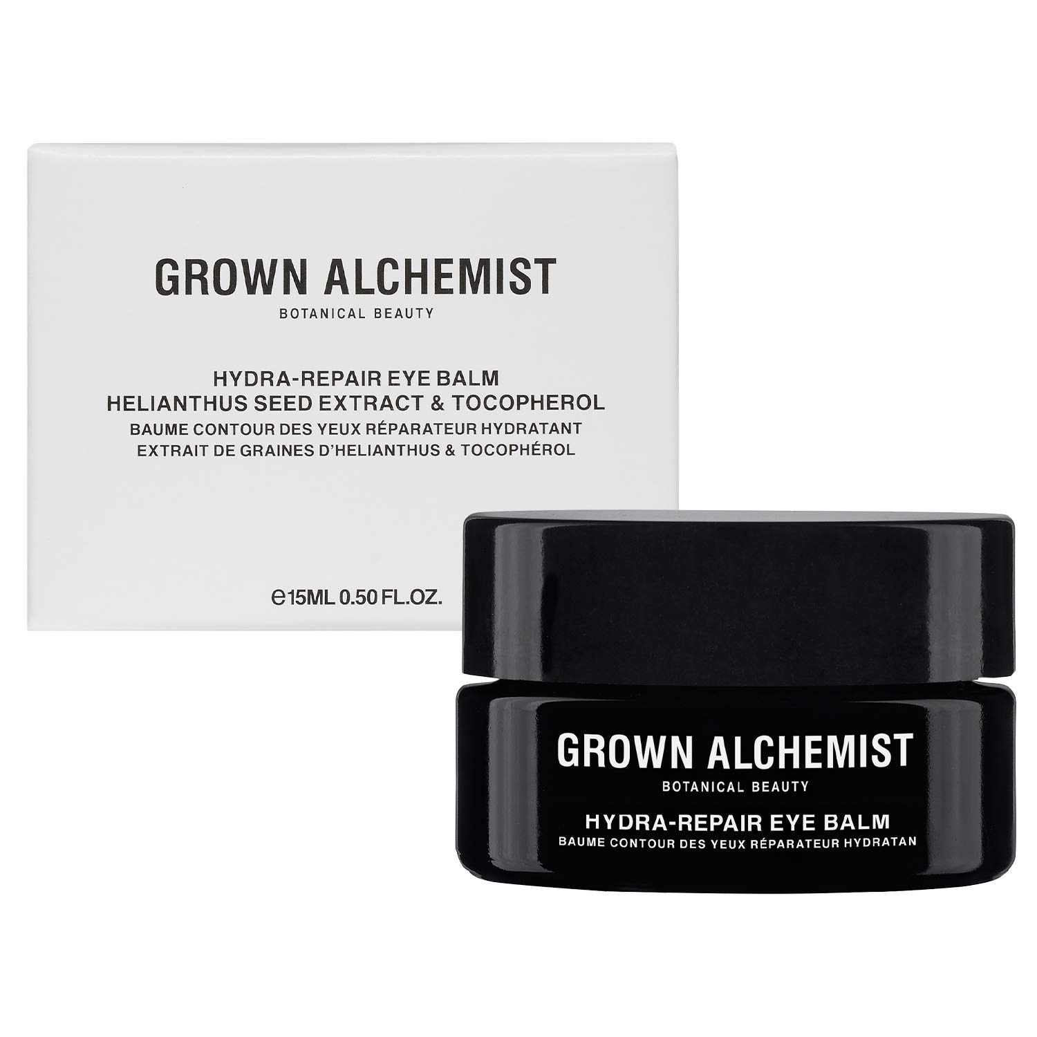 Grown Alchemist Hydra-Repair Eye Balm - Helianthus Seed Extract & Tocopherol - Made with Organic Ingredients (15ml / 0.5oz)