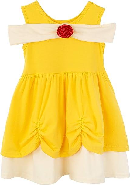Amazon.com: Vestido de sirena para niña, color blanco nieve ...
