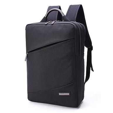 5247c5ae54cf Amazon.com  Men s Casual square backpack Laptop bag (black)  Clothing