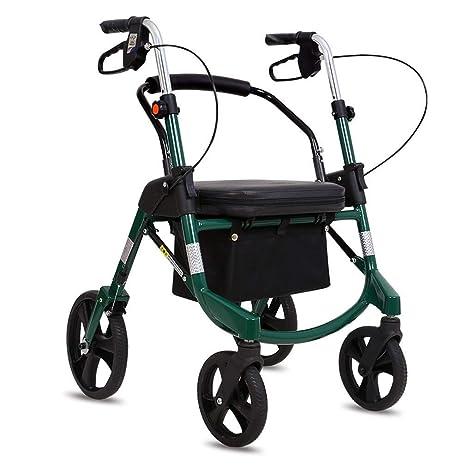 LCFF Andador Andador Plegable Walker Movilidad Carrito de Compras ...