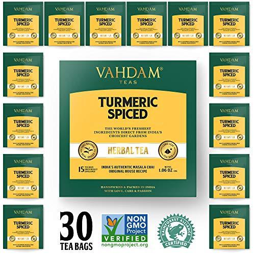 Turmeric Spiced Herbal Tea  | 2018 SOFI AWARD WINNER | INDIA