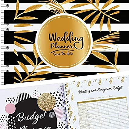 amazon com the perfect wedding planner and organizer checklists