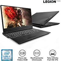 "Notebook Gamer 0 i7-8750H 128 SSD GTX1060, 6FHD 81M70000BR, Lenovo, Legion Y530, Intel Core i7, 16 GB RAM, HD 1000(GB), FHD, Tela 15.6"", windows_10, Preto"