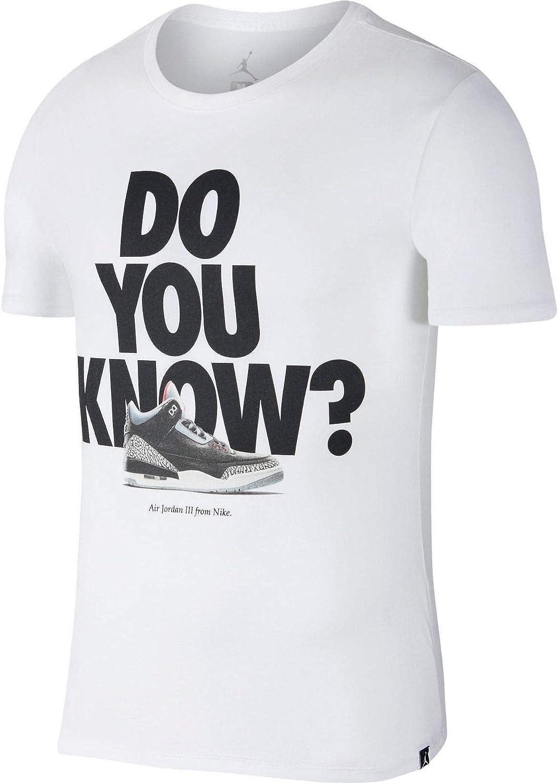 Nike Camiseta Jordan Sporstwear AJ 3 para Hombre: Amazon.es: Ropa ...