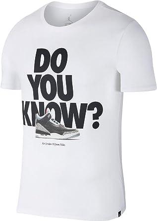 Nike Camiseta Jordan Sporstwear AJ 3 para Hombre: Amazon.es: Ropa y accesorios