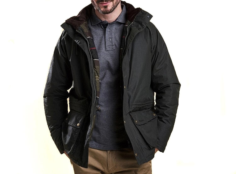 Barbour Abrigo Modelo Woodfold. Color Verde XL: Amazon.es: Ropa y accesorios