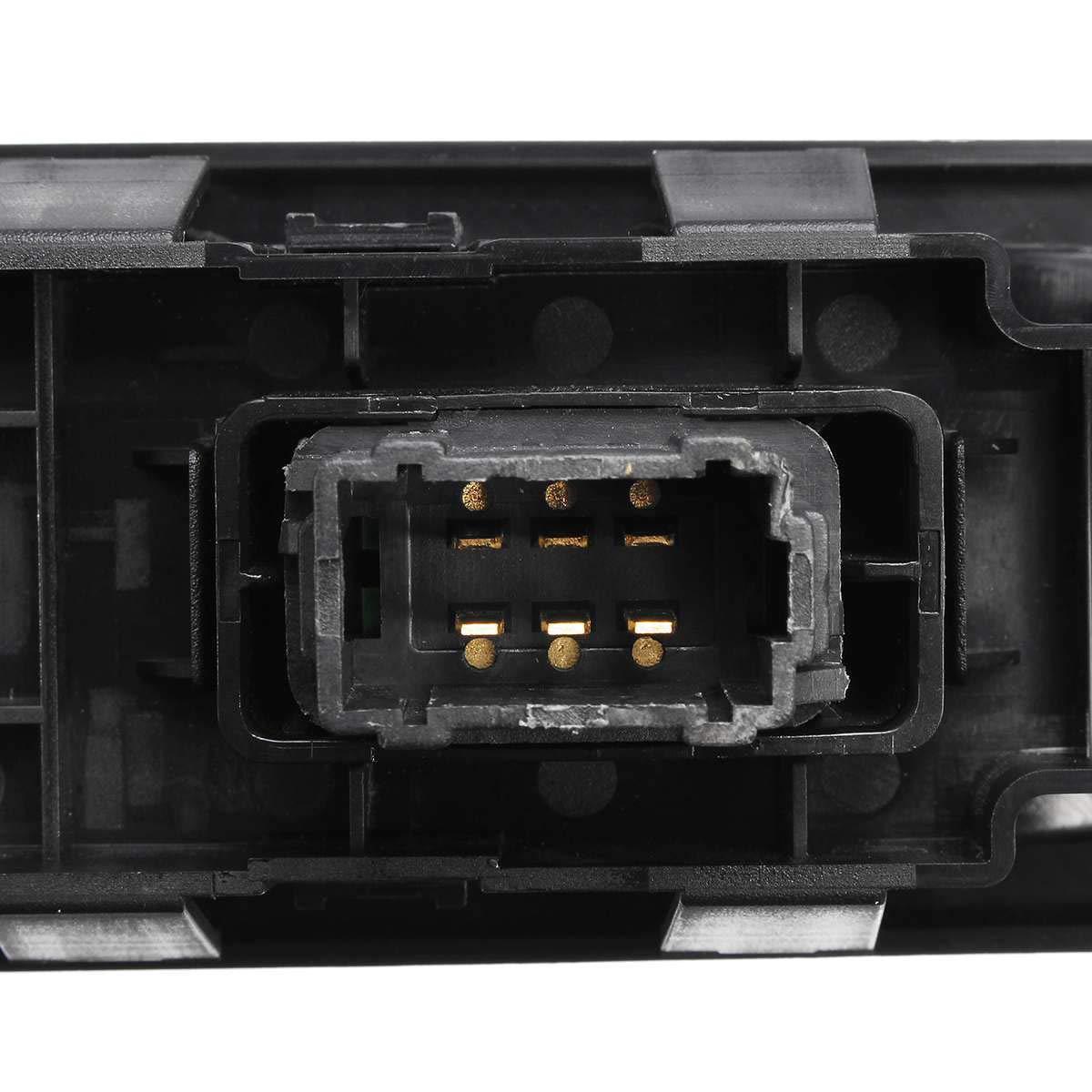 Nosii Interruptor de Control de la Ventana el/éctrica del Lado del Pasajero de 6 Pines para Peugeot 207 2007-2015 6490.HQ 6554.HJ