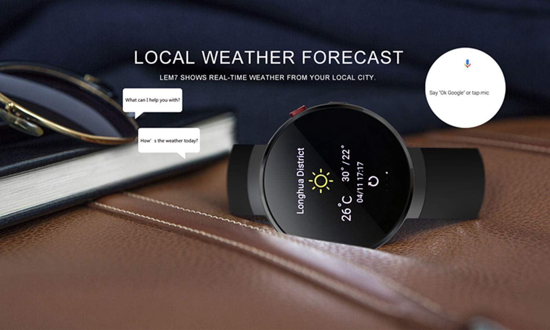 Smartwatch LEMFO LEM7 - Reloj de Pulsera para Android: Amazon.es ...