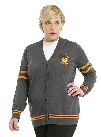 6857cfe6877 Harry Potter Gryffindor Girls Cardigan Plus Size