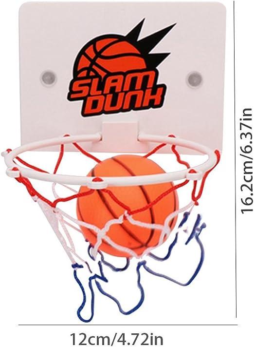 Mini cesta de baloncesto de pared para niños, ABS cesta Basket Interieur con Baloncesto y Installer la ventosa: Amazon.es: Salud y cuidado personal