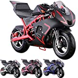 Pocket Bike Mini Motorcycle 4 Stroke Gas Power (RED)