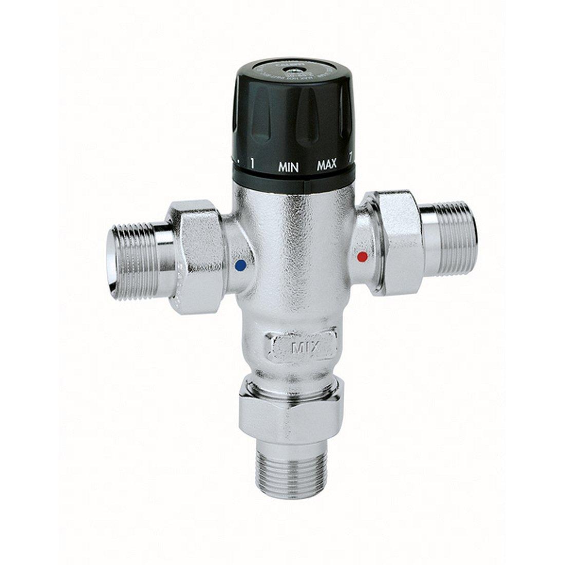 Caleffi 521400 Mezclador Termostá tico Antical 1/2' 30-65 ° C Regulable
