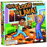 The Floor is Lava! Interactive Board Game for Kids and Adults (Ages 5+) Fun Party, Birthday, and Family Play   Promotes Physical Activity   Indoor and Outdoor Safe