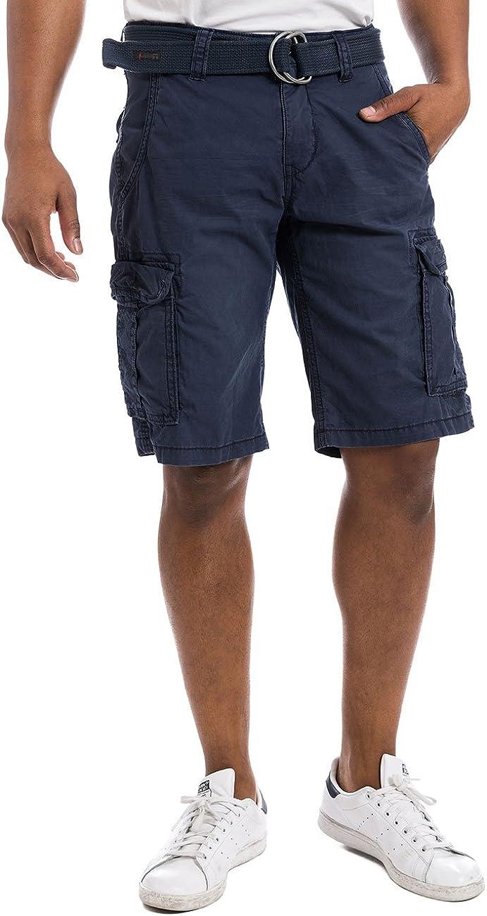Timezone Herren Maguiretz Cargo Incl Belt Shorts