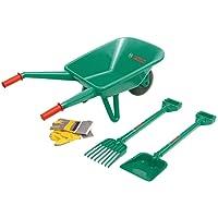 Theo Klein 2752 - BOSCH Gartenset mit Schubkarre, 4-teilig, Spielzeug