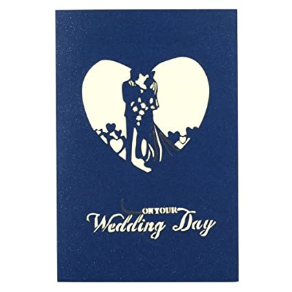 3d pop up greetings cards valentine lover weddings couple anniversary greeting witspace xmas new year