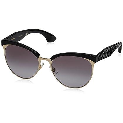 46fdccbfba10 Miu Miu Women s Top Rim Sunglasses