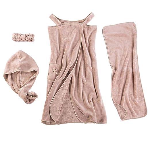 SPA para Mujeres Body Wrap Toalla de Falda de baño de Terciopelo ...