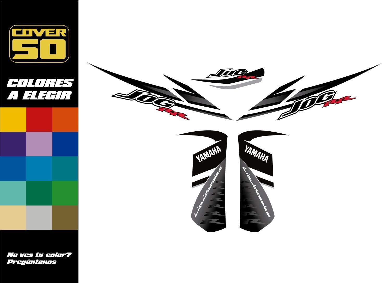 Kit Adhesivos Pegatinas Yamaha Jog - Replica Original - Colores Personalizados: Amazon.es: Hogar