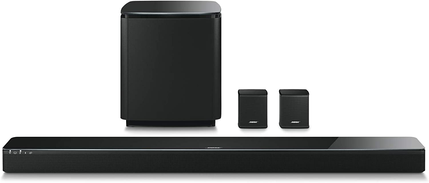 Bose 5.1 Home Theater Set (Black): Soundbar 700 + Bass 700 + Surround Speakers