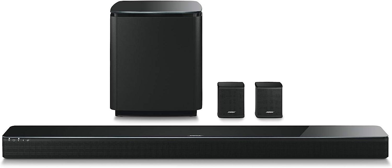 Bose 5.1 Home Theater Set (Black): Soundbar 700 + Bass 700 + Surround Speakers