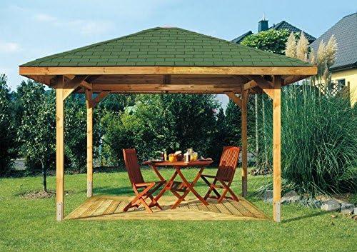 Producto nuevo. 3 m x 3 m (3, 5 m x 3, 5 m) jardín de madera ...