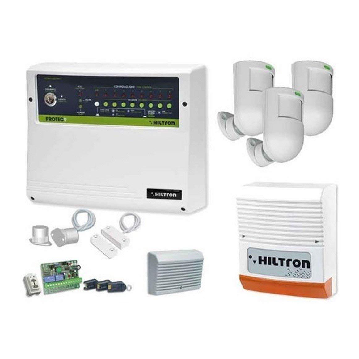 HiLTRON Central de Alarma protec9 8 Zonas + 1 H24 antirrobo ...