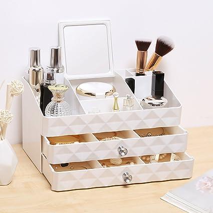 6b5a1e89dcb1 Amazon.com: Rackaphile Jewelry and Makeup Organizer, Cosmetic ...