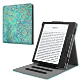 Fintie Stand Case for Kindle Oasis (9th Gen, 2017 Release ONLY) - Multi Angle Hands-free Viewing Flip Cover with Auto Sleep / Wake for Amazon All-New 7'' Kindle Oasis E-reader, Shades of Blue