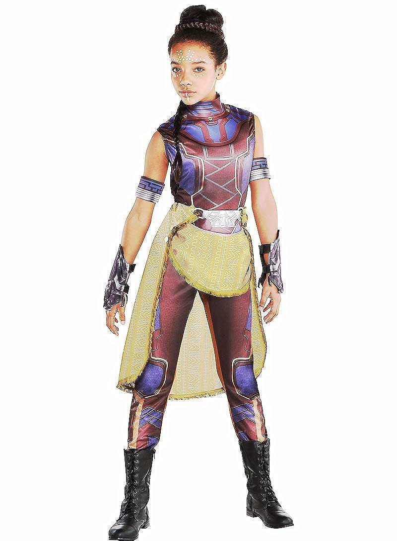 Amazon.com: HalloCostume Disfraz de Shuri para niñas ...